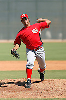 Aguido Gonzalez - Cincinnati Reds 2009 Instructional League. .Photo by:  Bill Mitchell/Four Seam Images..