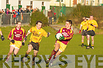 Listowel's Maurice Whealan and Daugh's l-r: Martin Scannell & Kieran Quirke..