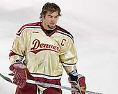Gabe Gauthier - The Ferris State Bulldogs defeated the University of Denver Pioneers 3-2 in the Denver Cup consolation game on Saturday, December 31, 2005, at Magness Arena in Denver, Colorado.