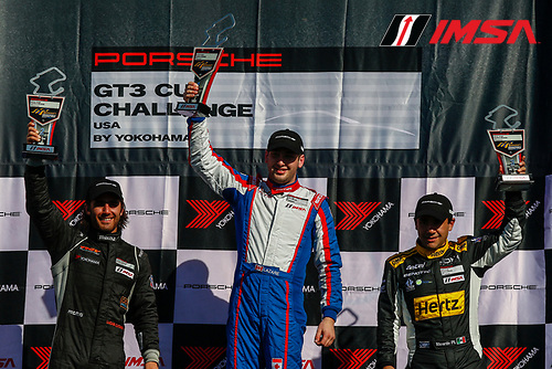 28-30 April, 2016, Monterey, California USA<br /> GT3 Cup USA, Race 2, Platinum Podium<br /> &copy;2016, Jake Galstad<br /> LAT Photo USA