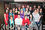 29 AGAIN: Sorcha Murphy, Oakpark, Tralee (seated 2nd right) enjoying her surprise 30th birthday party in the Abbey Inn, Tralee with family and friends on Saturday night.
