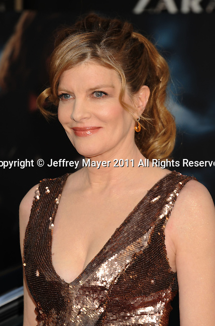 """HOLLYWOOD, CA - MAY 02: Rene Russo attends the """"Thor"""" Los Angeles Premiere at the El Capitan Theatre on May 2, 2011 in Hollywood, California."""