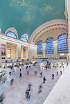USA, NY, New York, Grand Central Terminal at Rush Hour