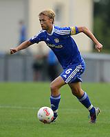 Fussball 1. Bundesliga:  Saison  Vorbereitung 2012/2013     Testspiel: Bayer 04 Leverkusen - FC Augsburg  25.07.2012 Simon Rolfes (Bayer 04 Leverkusen)
