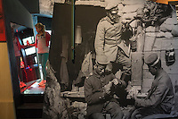 A girl visits an exhibition of World War I at Flanders Fields Museum in Ypres, West Flanders, Belgium, August 26, 2014. 2014 marks 100th anniversary of the Great War.