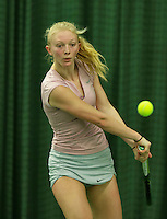 Rotterdam, The Netherlands, March 18, 2016,  TV Victoria, NOJK 14/18 years, Jente Boelsma (NED)<br /> Photo: Tennisimages/Henk Koster