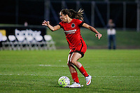 Piscataway, NJ - Sunday Sept. 25, 2016: Tobin Heath during a regular season National Women's Soccer League (NWSL) match between Sky Blue FC and the Portland Thorns FC at Yurcak Field.