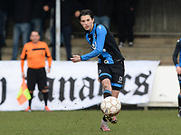 20180127 - AALTER , BELGIUM : Brugge's Febe Vanhaecke pictured during the quarter final of Belgian cup 2018 , a womensoccer game between Club Brugge Dames and Standard Femina de Liege , in Aalter , saturday 27 th January 2018 . PHOTO SPORTPIX.BE | DAVID CATRY