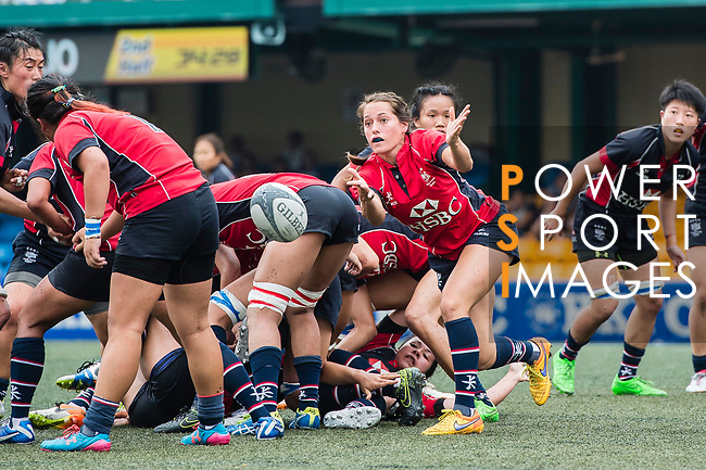Lindsay Varty of Lions (C) in action during the Women's National Super Series 2017 on 13 May 2017, in Hong Kong Football Club, Hong Kong, China. Photo by Marcio Rodrigo Machado / Power Sport Images