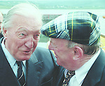 Jackie Healy-Rae and Charlie Haughey were good friends.<br /> Photo Don MacMOnagle