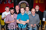 The Nugget Old Timers team  that played The Klub bar in the Killarney Darts league Group 2 final in Mustang's Sallys on Friday night l-r: john doyle, Stephen O'Sullivan, Gary, Damien and Darren McCormick, Jeremy Costello and Mike Cronin