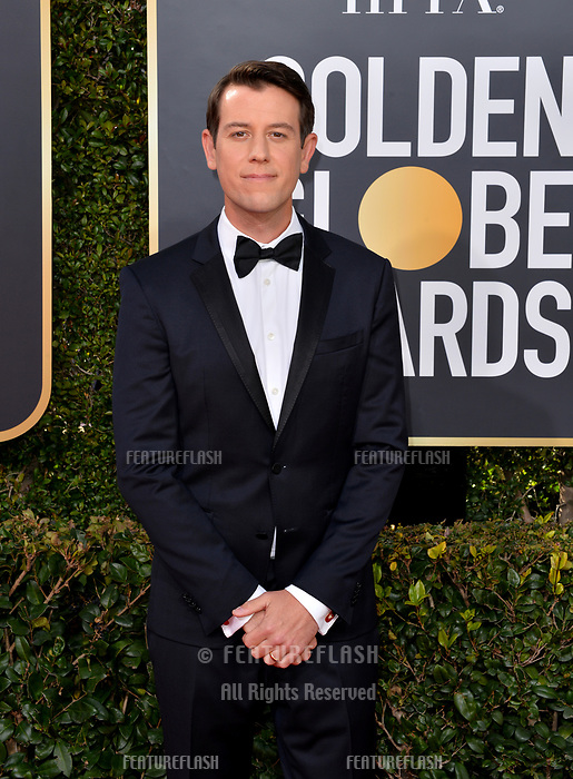 LOS ANGELES, CA. January 06, 2019: Ben Lyons at the 2019 Golden Globe Awards at the Beverly Hilton Hotel.<br /> Picture: Paul Smith/Featureflash
