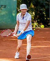 Hilversum, The Netherlands, September 2, 2018,  Tulip Tennis Center, NKS, National Championships Seniors, Women's 60+ final: Nora Blom (NED) <br /> Photo: Tennisimages/Henk Koster