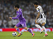 June 3rd 2017, National Stadium of Wales , Wales; UEFA Champions League Final, Juventus FC versus Real Madrid; Isco of Real Madrid breaks away from Dani Alves of Juventus