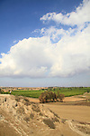 Israel, a view from Tel Hasi Tel Hasi, ancient archaeological site in Southern Coastal Plain