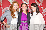 SUPPORT: Supporting Rose entrant Maria Enright at the Kerry Rose Selection 2011 at the Ballyroe Heights hotel on Saturday l-r: Margaret Woods, Therese Kennelly and Katie Holly from Tarbert and Glin.