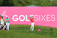Soomin Lee of Team South Korea in action on day 2 at the GolfSixes played at The Centurion Club, St Albans, England. <br /> 06/05/2018.<br /> Picture: Golffile | Phil Inglis<br /> <br /> <br /> All photo usage must carry mandatory copyright credit (&copy; Golffile | Phil Inglis)