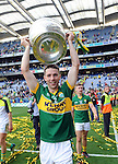 Marc O'Se celebrate after winning the All-Ireland Football Final against Donegal in Croke Park 2014.<br /> Photo: Don MacMonagle<br /> <br /> <br /> Photo: Don MacMonagle <br /> e: info@macmonagle.com