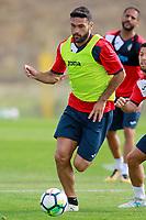 Getafe CF's Jorge Molina during training session. August 1,2017.(ALTERPHOTOS/Acero) /NortePhoto.com