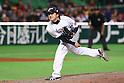 Hirokazu Sawamura (JPN), .MARCH 3, 2013 - WBC : .2013 World Baseball Classic .1st Round Pool A .between Japan 5-2 China .at Yafuoku Dome, Fukuoka, Japan. .(Photo by YUTAKA/AFLO SPORT)