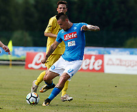 Marek Hamsik  during a preseason friendly soccer match against Aunania in Dimaro's Stadium   {today0} July 2017