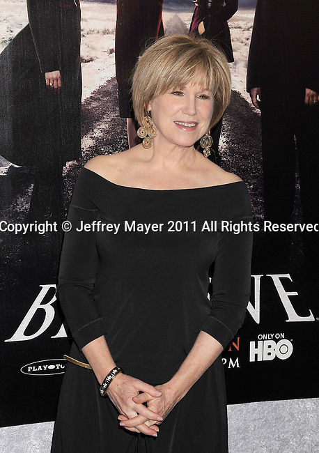 """LOS ANGELES, CA - January 12: Mary Kay Place attends HBO's """"Big Love"""" Season 5 party at the Directors Guild Of America on January 12, 2011 in Los Angeles, California."""