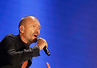 Biagio Antonacci performs during &quot;Pino &egrave;&quot; tribute concert at Pino Daniele, Italian singer dead in 2015,<br /> Naples 07 june 2018<br /> ph cixer