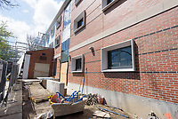 Major Renovation Litchfield Hall WCSU Danbury CT<br /> Connecticut State Project No: CF-RD-275<br /> Architect: OakPark Architects LLC  Contractor: Nosal Builders<br /> James R Anderson Photography New Haven CT photog.com<br /> Date of Photograph: 28 April 2017<br /> Camera View: 02 - Front, South Elevation