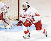 Kevin Roeder - The Boston College Eagles defeated the Miami University Redhawks 5-0 in their Northeast Regional Semi-Final matchup on Friday, March 24, 2006, at the DCU Center in Worcester, MA.