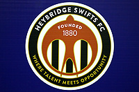 Heybridge logo during Heybridge Swifts vs AFC Hornchurch, Bostik League Division 1 North Football at Scraley Road on 9th January 2018