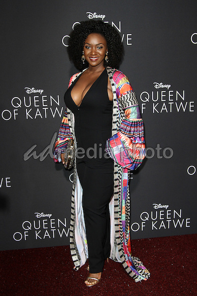 """20 September 2016 - Hollywood, California - Saycon Sengbloh. """"Queen Of Katwe"""" Los Angeles Premiere held at the El Capitan Theater in Hollywood. Photo Credit: AdMedia"""