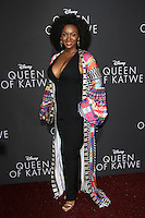 "20 September 2016 - Hollywood, California - Saycon Sengbloh. ""Queen Of Katwe"" Los Angeles Premiere held at the El Capitan Theater in Hollywood. Photo Credit: AdMedia"