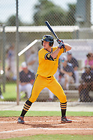 Colby Halter  (7) during the WWBA World Championship at the Roger Dean Complex on October 10, 2019 in Jupiter, Florida.  Colby Halter attends Bishop Kenny High School in Jacksonville, FL and is committed to Florida.  (Mike Janes/Four Seam Images)