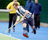 Ian Roberts in action for Hampstead during the England Hockey League Mens Premier Division game between Hampstead & Westminster against Canterbury at The Paddington Recreation Ground, Maida Vale on Sat Sept 25, 2010