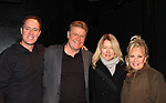Robert Bogue, Michael O'Leary, Larry Moss, Cynthia Watros, Tina Sloan star in Breathing Under Dirt - A New Play by Guiding Light's Michael O'Leary and directed by Larry Moss with an industry reading on January 24, 2017 at Cherry Lane Theater, New York City, New York.  (Photo by Sue Coflin/Max Photos)