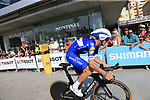 Fabio Sabatini (ITA) Quick-Step Floors during Stage 1 of the La Vuelta 2018, an individual time trial of 8km running around Malaga city centre, Spain. 25th August 2018.<br /> Picture: Ann Clarke | Cyclefile<br /> <br /> <br /> All photos usage must carry mandatory copyright credit (© Cyclefile | Ann Clarke)