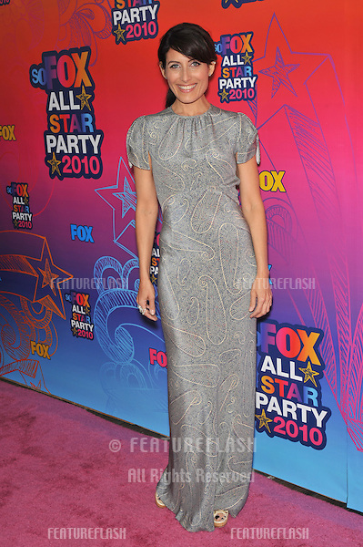 "Lisa Edelstein - star of ""House"" - at Fox TV's All Star Party at Santa Monica Pier..August 2, 2010  Santa Monica, CA.Picture: Paul Smith / Featureflash"