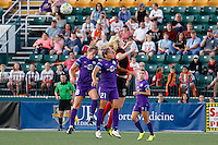 Rochester, NY - Saturday June 11, 2016:  during a regular season National Women's Soccer League (NWSL) match between the Western New York Flash and the Orlando Pride at Rochester Rhinos Stadium.