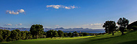 Looking back the 1st fairway during the Pro-Am of the Challenge Tour Grand Final 2019 at Club de Golf Alcanada, Port d'Alcúdia, Mallorca, Spain on Wednesday 6th November 2019.<br /> Picture:  Thos Caffrey / Golffile<br /> <br /> All photo usage must carry mandatory copyright credit (© Golffile | Thos Caffrey)