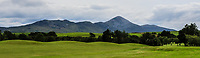 A view of Croagh Patrick during the Preview of the AIG Cups & Shields Connacht Finals 2019 in Wesport Golf Club, Westport, Co. Mayo on Thursday 8th August 2019.<br />