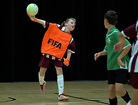 Action from the AIMS futsal at ASB Baypark Arena in Mount Maunganui, New Zealand on Thursday, 13 September 2018. Photo: Dave Lintott / lintottphoto.co.nz