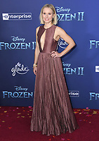 """07 November 2019 - Hollywood, California - Kristen Bell. Disney's """"Frozen 2"""" Los Angeles Premiere held at Dolby Theatre.        <br /> CAP/ADM/BT<br /> ©BT/ADM/Capital Pictures"""