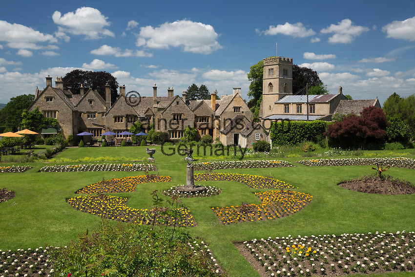 United Kingdom, England, Worcestershire, Buckland, near Broadway: Buckland Manor Country House Hotel | Grossbritannien, England, Worcestershire, Buckland, bei Broadway: Buckland Manor Country House Hotel
