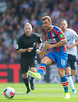 Crystal Palace James McArthur during the Premier League match between Crystal Palace and Everton at Selhurst Park, London, England on 10 August 2019. Photo by Andrew Aleksiejczuk / PRiME Media Images.