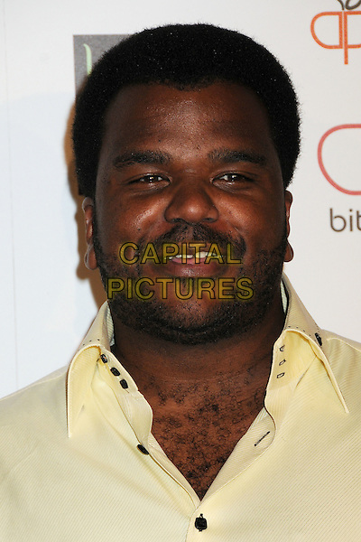 CRAIG ROBINSON.Apple Lounge Grand Opening Party at Apple Lounge on Robertson, West Hollywood, California, USA..August 14th, 2008.headshot portrait stubble facial hair .CAP/ADM/BP.©Byron Purvis/AdMedia/Capital Pictures.