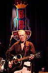 "David Carradine, Star of movie ""Kill Bill"" makes a rare live music performance at B.B. King's Blues Club at Universal City 11th June 2004. Photo by Chris Walter."