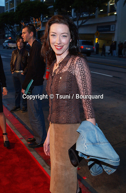 Molly Parker arriving  at the premiere of FRAILTY at the Lemmle Theatre in Los Angeles. April 9, 2002.           -            ParketMolly05.jpg