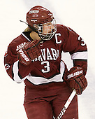Liza Ryabkina (Harvard - 3) - The Boston College Eagles defeated the visiting Harvard University Crimson 6-2 on Sunday, December 5, 2010, at Conte Forum in Chestnut Hill, Massachusetts.