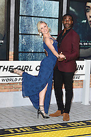 Joanne Clifton and Ore Oduba<br /> at the premiere of &quot;The Girl on the Train&quot;, Odeon Leicester Square, London.<br /> <br /> <br /> &copy;Ash Knotek  D3156  20/09/2016