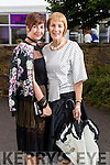 Claire and Noreen Kiely (both from Killarney), pictured at the Rose of Tralee Fashion Show on Sunday night last held in the Dome, Tralee.